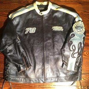 Marc Buchanan Size 52 PELLE PELLE Leather Jacket